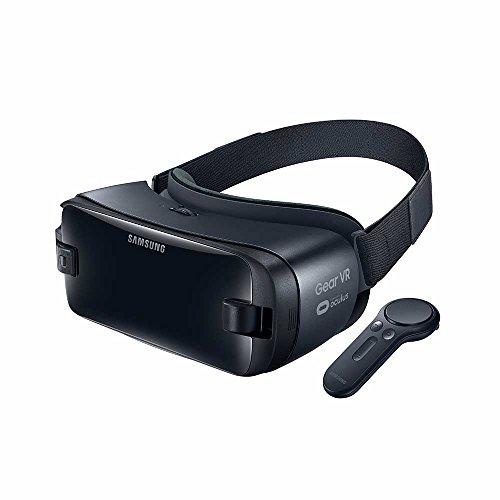 Samsung New Gear VR-Brille mit Controller, Schwarz–kompatibel S8/S7/S6