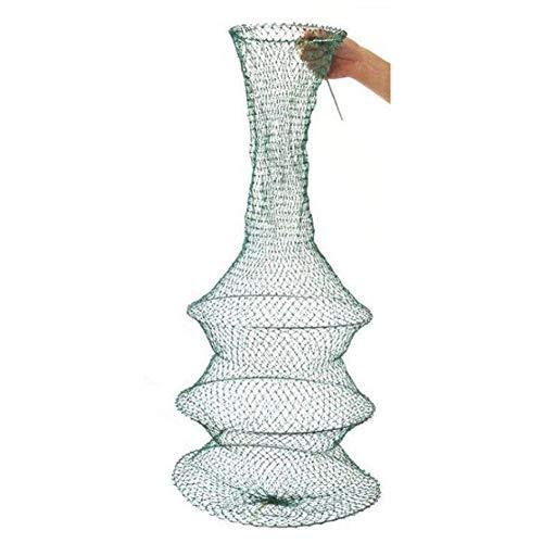 Fischreuse Reusen Köderfischreuse Krebsreuse Faltbare Fischernetz Angel Netz Zubehör,4 Floors