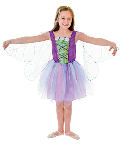 Bristol Novelty Cc121 Costume de Fée avec Ailes, Multicolore, Medium, Height 122-134 cm