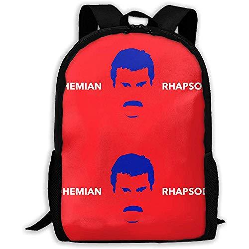 Hochleistungs-Unisex-Rucksack für Erwachsene Bohe-Mian Rhapsody Bookbag Reisetasche Schultaschen Laptoptasche