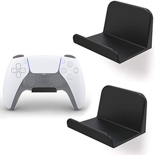 sciuU Wandhalterung für Kopfhörer / Controller, [2 Stück] Halter, Selbstklebende 3M Kleiderbügel, Universal Hook Zubehör für Gamepad auf XBox / PS5 / PS4 / Nintendo,...