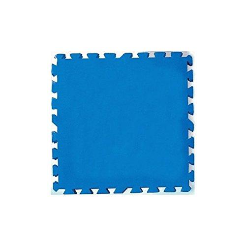 Bestway - Alfombrilla para piscina, 50 x 50 cm, 8 unidades 58220, Multicolor