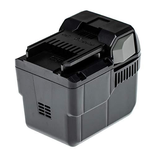 INTENSILO Batteria compatibile con Hitachi DH 36DAL, DH36DL attrezzi da lavoro (5000mAh 36V Li-Ion)