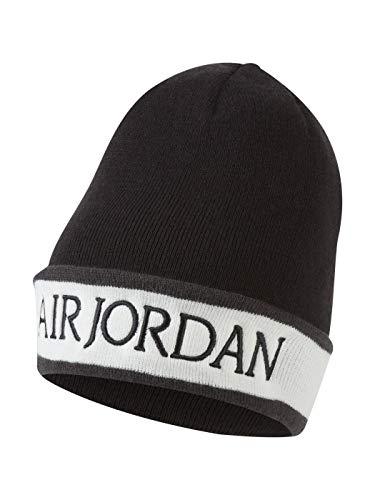Jordan Sombrero bordado y solapa 010 Negro Talla única