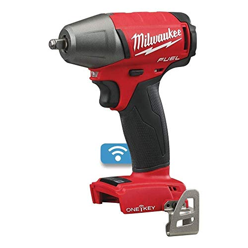Milwaukee M18ONEIWF38-0 ONEIWF38-0 ONE-Key 3/8in F 18V Bare Unit M18 Fuel Impact Wrench Friction Ring (3/8') (Naked-no Batteries or Charger) New, Size