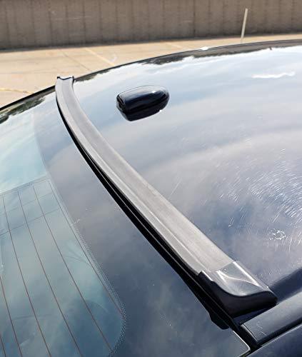 TRUE LINE Automotive Premium Black Roof Spoiler Lip Molding Trim DIY Kit