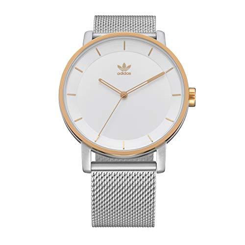 Adidas Unisex Analog Quarz Uhr mit Edelstahl Armband Z04-1921-00