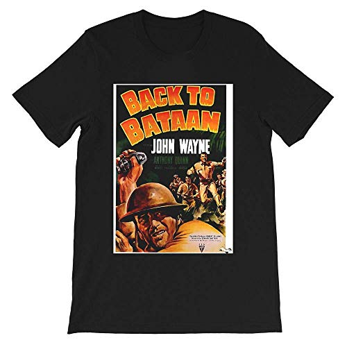 Back to Bataan Movie Poster Joseph Madden Bertha Barnes Gift Men's Women's Girls Unisex T-Shirt Hoodie
