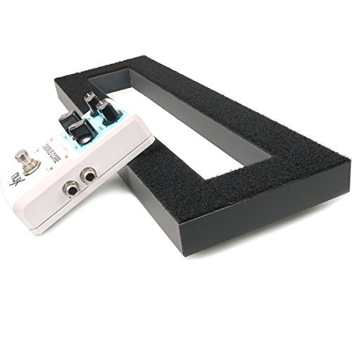 "Mr.Power Pedalboard Made By Aluminium Alloy 15.7"" x 5.1"" Guitar Effect Pedal Board (Small Pedalboard)"