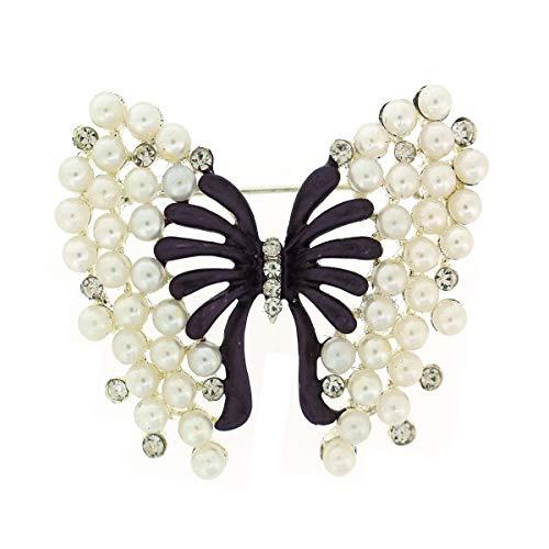 SevenAndEight S /& E femmes de style vintage 10/Rose Fleur Cristal Strass Mariage Mari/ée /épingles /à cheveux