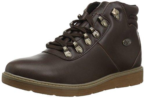 Lugz Women's Theta Fashion Boot, Dark Brown/Brown/Gum, 7 M US