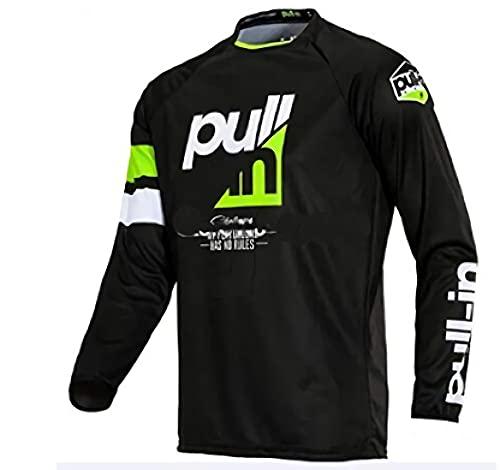 RngCarSticker MTB Enduro Jersey Hombre, MTV Camiseta Barata,Sudadera Jersey Downhill Camiseta Bicicleta Ciclismo Bicicleta Downhill Jersey Motocicleta Jersey Motocross 2XL