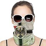Homect Gesichtsmaske, Schal, Schlauchtuch mit preußischer Flagge, variabler Schal, für Damen und Herren
