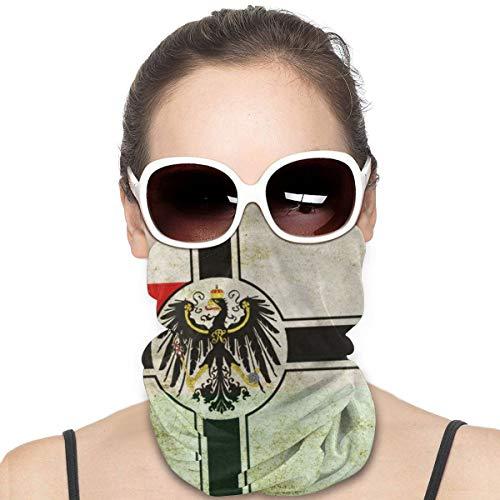 Homect Flaggen Preußen Gesichtsmaske Kopftuch Schal Vielfalt Schal magische Kopfbedeckung für Damen Herren