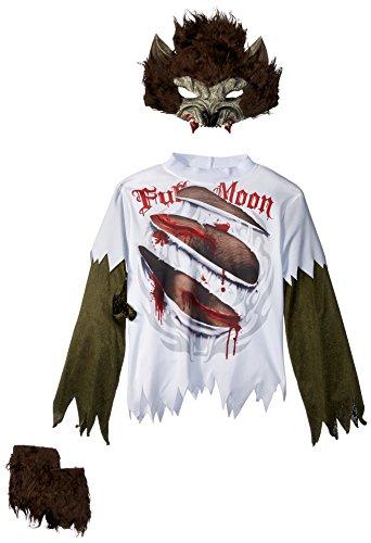 Wolfsjunge Werwolf Kostüm für Kinder - Gr. 134/140
