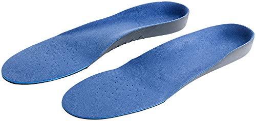 PEARL sports Einlegesohlen: Komfort-Schuheinlage, gepolsterte Fersen- & Ballenregion, Gr. 43-46 (Memory Foam Sohle)