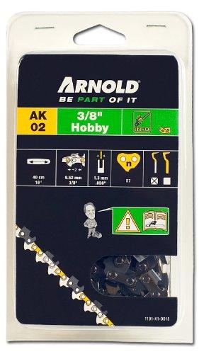 Arnold zaagketting 3/8 inch Hobby, 1,3 mm, 57 aandrijfschakels, 40 cm zwaard 1191-X1-0018