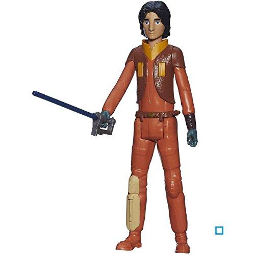 Hasbro Figurine de Star Wars Rebels de 30 cm : Ezra Bridger