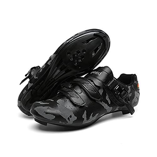 Zapatos De Ciclismo De Caminos para Hombres con Zapatos De Montaña para...