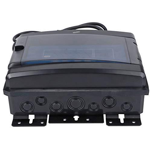 Astibym Tratamiento de Agua Máquina de Cloro salino 230-240V 100W Clorador de Sal de Baja salinidad Generador de Cloro de Agua Clorador de Sal de Piscina para Tanques de natación(Rosado)