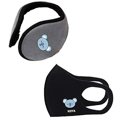 Fashion Men/'s Winter Warmer Earmuffs Lint Simple Grip Wrap Soft Casual Ear Cover
