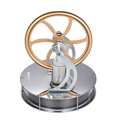 Roeam Low Temperature Stirling Engine Kit Steam Heat Motor Education Model Science Toy Kit for Adults Kids