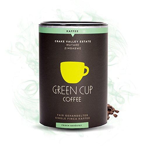 Green Cup Coffee Crake Valley - Arabica Kaffeebohnen aus Zimbabwe - fair gehandelte Kaffeebohnen in Premium Qualität für Genießer in der praktischen Dose - 227g gemahlen