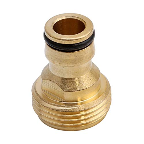 Iumer 1pcs 3/4 Inch Brass Garden Faucet Water Hose Tap Connector Fitting Whole Sale