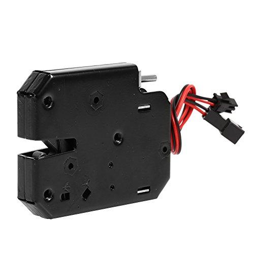 Cerraduras electromagnéticas de CC de 12 V, cerradura electrónica inteligente Interruptor del cajón Armarios de control eléctricos A prueba de fallas para sistema de control de acceso de puerta
