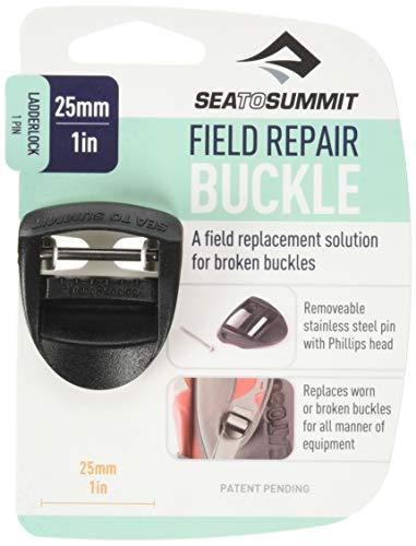 Sea to Summit Reparaturschnalle Ladderlock 1 Pin Outdoor-ausrüstung, Schwarz, M