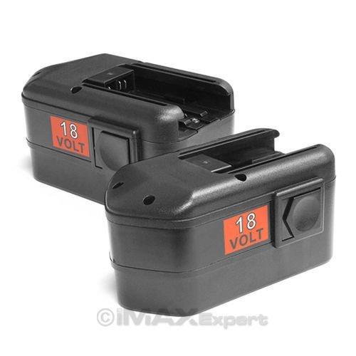 2 x NEW 18V 18 VOLT BATTERY for MILWAUKEE 48-11-2230