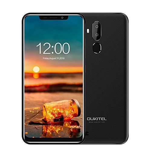 Günstige Smartphone,OUKITEL C12 Pro Handy Ohne Vertrag 6.18 Zoll Android 8.1 3300mAh Akku 16GB Interner Speicher 8MP+5MP Dual Kameras 4G Dual SIM Smartphone