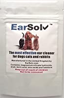 Dog ear cleaner powder for cleaning out wax, yeast and mites EarSolv is *** 100 % GUARANTEED *** to clean your dogs ears Dog ear cleaning powder that is fast and simple to apply without discomfort to your pet Cleans sore, itchy, smelly waxy ears and ...