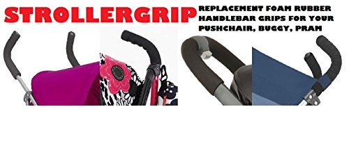 Stroller, Buggy , Pushchair, Replacement Handle, Grips SIZE - MEDIUM- To fit, CHICCO LITEWAY, MACLAREN, MOTHERCARE, KOOCHI, AND MORE by The baby store