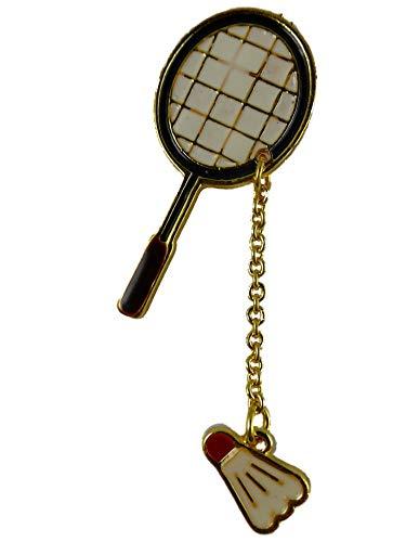 Alexandra Fischer Brosche/Anstecknadel/Pin Tennis Schläger Federball Tischtennis Sport Verein B274
