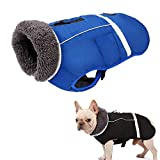 MAFANG® Hundemantel, Reflektierend Hundejacke, Wasserdicht Hundemantel Warm Gepolstert Puffer Weste...