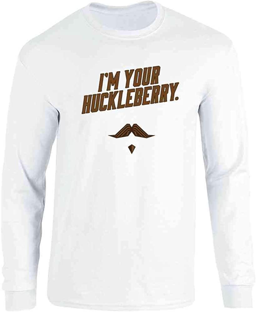 I'm Your Huckleberry Western Quote Funny Vintage