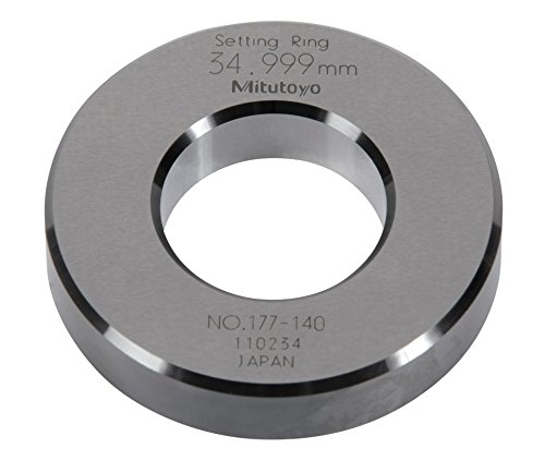 +//-0.00008 Accuracy 6.0 Size Mitutoyo 177-301 Setting Ring 9.25 Outside Diameter 1.5 Width