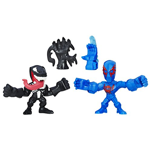 Marvel Avengers Super Hero Mashers Figurine Spiderman 2099 et Venom