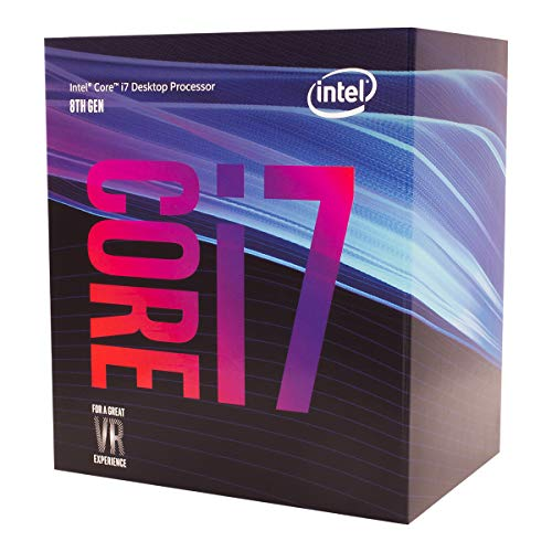 Intel Core i7 8700 Cpu Processore, Argento