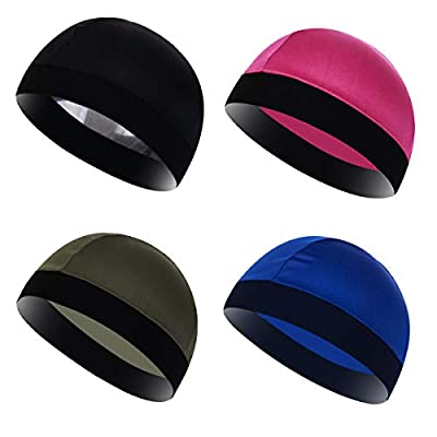 Shark Tooth Cooling Helmet Liner for Men & Women Cycling Skull Cap Running Hat