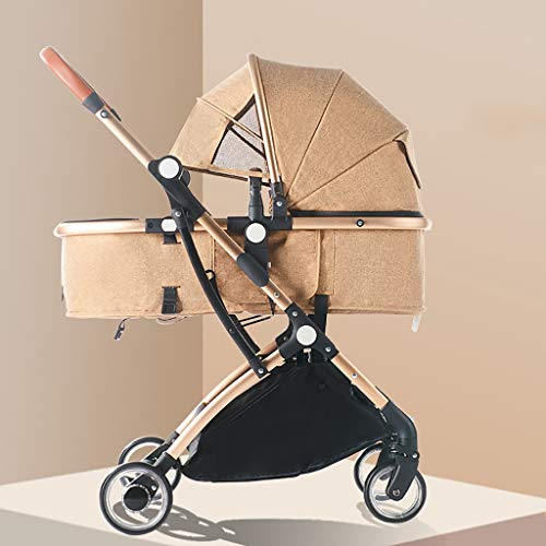 Read About JIAX Baby Carriage,with Convertible Reversible Shock Absorber for Infant Newborn Sit and ...