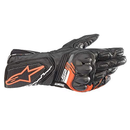 Alpinestars Motorradhandschuhe kurz Motorrad Handschuh SP-8 V3 Sporthandschuh rot L, Unisex, Sportler, Ganzjährig, Leder