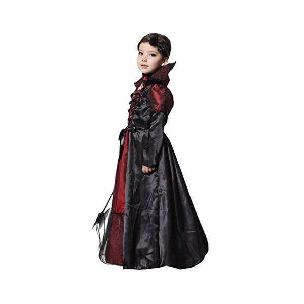 EOZY-Vampire Queen Costume - Vampire Girl Costume - Twilight - Girls Girls 'Dress And Accessories for Halloween Carnival, Cosplay 2 spesavip
