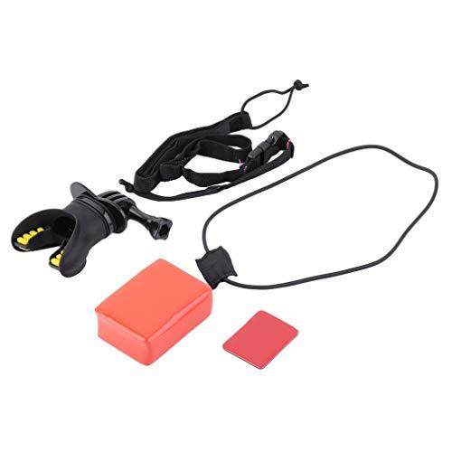Kit de arnés de soporte flotante para GoPro Hero? 4/3 +/3/2/1 cámara, color negro
