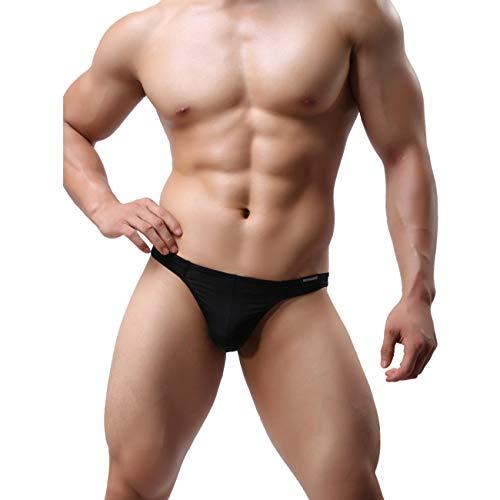 Summer-Sexy Herren Bikini Bademode Elastisch Slip Tanga G-String Badehose