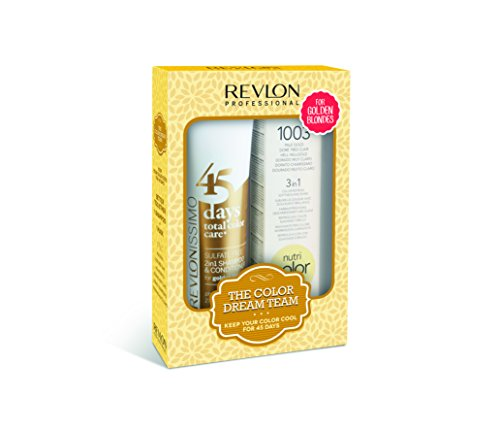 REVLON PROFESSIONAL Sulfate Free 45 Days Golden Blonde 275ml + Nutri Color 1003 100ml