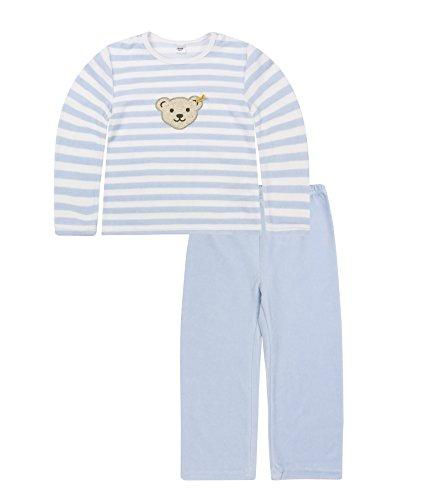 Steiff manches longues mixte bébé, Bleu (Baby Bleu 3023)), 7 ans (Taille du fabricant122)