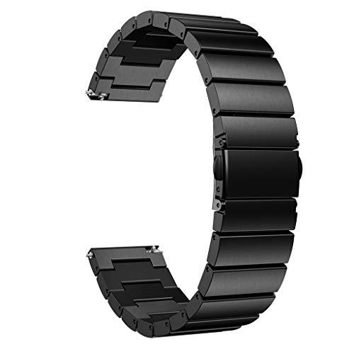 Pulsera Miss Fortan Band Correa Reloj Clásico, Correa de Acero Inoxidable Pulseras de Repuesto Correa de Recambio Brazalete Extensibles para Reloj Simple