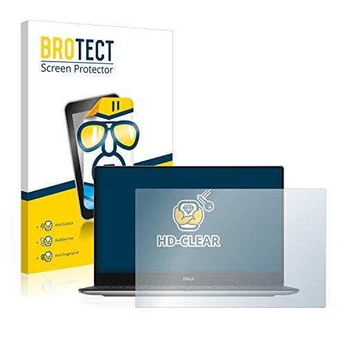 BROTECT Schutzfolie kompatibel mit Dell XPS 13 9360 Non-Touch klare Bildschirmschutz-Folie